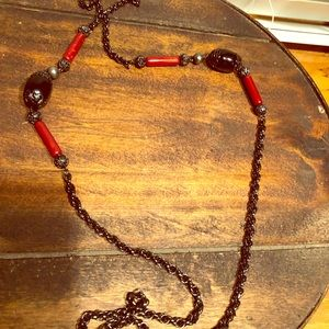 Jewelry - Long vintage necklace